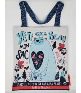 YÉTI assez beau mon sac